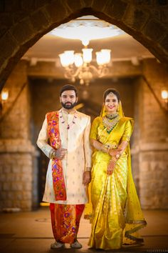 south india's top wedding photographers and filmmakers offices located in hyderabad and bangalore Bridal Sarees South Indian, Indian Wedding Gowns, Indian Bridal Outfits, Indian Bridal Fashion, Marathi Wedding, Indian Weddings, Saree Wedding, Couple Wedding Dress, Wedding Outfits For Groom