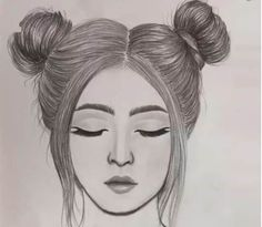 Cute girl face Drawing Step by Step || How to draw a Girl Easy