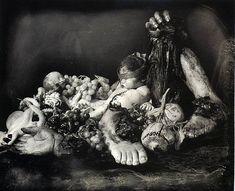 "© Joel-Peter Witkin "" Feast of Fools"" (le Festin des fous), 1990."