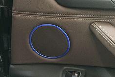 Mad Hornets - 4 x Door Speaker Stereo Cover Trim Ring BMW X5 F15 (14-15) X6 F16 (15) Blue, $18.99 (http://www.madhornets.com/4-x-door-speaker-stereo-cover-trim-ring-bmw-x5-f15-14-15-x6-f16-15-blue/)