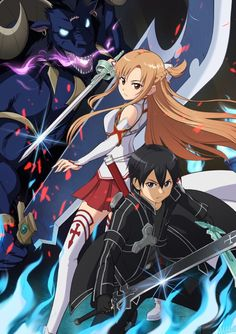 Show Manga And Anime Drawing Styles Sword Art Online Asuna, Sword Art Online Wallpaper, Kirito Asuna, Anime Drawing Styles, Chica Anime Manga, Fan Art, Anime Angel, Anime Love, Online Art