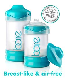 BARE™ air-free baby bottles. Best for breastfed babies. Best anti-colic for gassy babies.