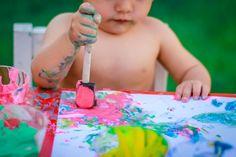 Cómo hacer pintura de yogur – Minimalista