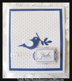 carte communion marine et blanc pour annick