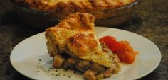 Pork, Chestnut and Apple Pie from the Ardennes