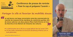 Suite de l'entretien accordé par Dominique GROS, Maire de Metz, dans le Metz Mag de Septembre 2015.