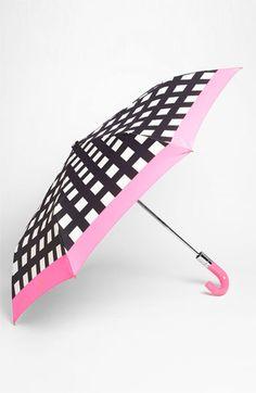 kate spade new york 'pop art' check umbrella | Nordstrom