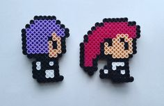 **1 Magnet Qualifies for a FILL THE BOX order** --------------------------------------------------   Product Details: These Jesse & James Team Rocket magnets are completely handmade by me! Perfect for your refrigerator, dorm room, locker or any magnetic surface!  Each character has 1 or 2 magnets attached to the back!  Magnets are approximately 3 x 3 inches.  Caring For Your Product: This item is completely handmade by me. I always put lots of love, hard work, and care into making my ite...