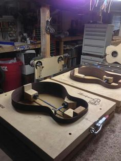 Making guitars