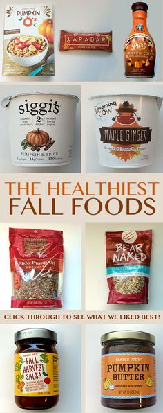 We Tasted 20 Healthy Fall Snacks – See Our Favorites! -- We searched store aisles and ate through mountains of pumpkin and apple-flavored snacks to compile the ultimate guide to healthy fall foods. Read on for what's good, what's not, and what's so gross you wouldn't even feed it to your worst enemy. // beachbody // beachbody blog