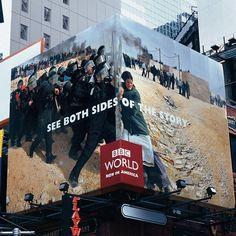 BBC Advertisement: Both sides of the story... #BBC #Gerilla #Marketing #Pazarlama #Reklam #Advertisement #News #Creativity #Yaratıcılık