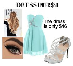 """""""Dress Under $50"""" by usherbae ❤ liked on Polyvore featuring New Look and Dressunder50"""
