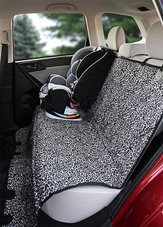 Amazon.com : Deeziner K9 - Waterproof Pet Car Seat Cover - Luxurious Leopard Print - Best Silicone Non-slip Backing - Seat Anchors - For Cars, Midsize SUV's and Trucks - REGULAR Size : Pet Supplies
