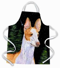 Starry Night Ibizan Hound Apron