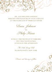 Delicate & Ornate - Wedding invitation cards