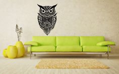 Owl Bird Animal Wings Flying Vinyl Decals Wall Art Sticker Home Modern Stylish Interior Decor for Any Room Smooth and Flat Surfaces Housewares Murals Design Graphic Bedroom Living Room (4240) stickergraphics http://www.amazon.com/dp/B00IOOUO2S/ref=cm_sw_r_pi_dp_MHUVtb044ZWHC4M9