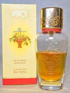 Vintage Houbigant Apercu Eau de Parfum Spray by FragranceWindow