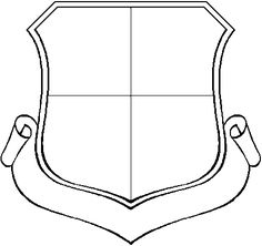 Shield Template Clipart - Free to use Clip Art Resource - ClipArt Best Harry Potter Nails Designs, Shield Template, Printable Worksheets, Printables, Elephant Template, Knight Shield, Blank Banner, Best Templates, Clips