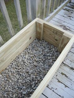 Gathering Branches: How to Build a Planter out of Pressure Treated 2x4's