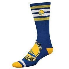 Golden State Warriors NBA Four Stripe Sock (Blue)