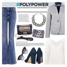 """""""What's Your Power Outfit?"""" by ifchic ❤ liked on Polyvore featuring Atea Oceanie, DIANA BROUSSARD, Dee Keller, Mohzy, Anja, Grey Ant, contestentry, PolyPower and ifchic"""