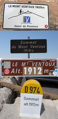 TDF stage 15 ends at Mont Ventoux. Cycling Art, Cycling Bikes, Cycling Equipment, Provence, Directional Signage, Push Bikes, Stage, Bicycle Art, World Of Sports