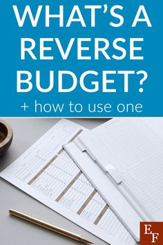 What Is a Reverse Budget and How to Use One | Everything Finance Best Business Plan, Starting A Business, Business Planning, Pay Yourself First, Current Job, Finance Blog, Do What You Want, Managing Your Money, Life Happens