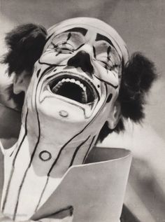 1940s Vintage Circus Carnival Laughing Clown Costume Makeup Ringling Photo 11x14 | eBay More