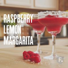 Raspberry Lemon Margarita