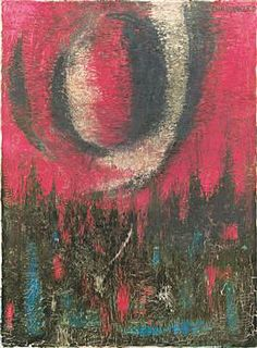 """Turkish contemporary artist Fahrelnisa Zeid's abstract composition titled """"Fahrelnisa"""" sold for Turkish Liras during an auction that took place on Nov. Painter Artist, 2 Colours, Contemporary Artists, Female Art, Abstract, Painters, Inspirational, Color, Woman"""