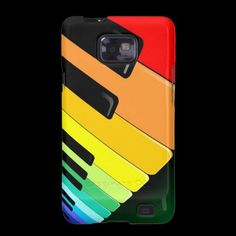 #Keyboard #Music #Party #Colors #Samsung #Galaxy #Cases © #Bluedarkat - on #Zazzle!
