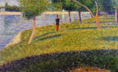 Georges Seurat, Cadet from Saint-Cyr, 1884, Oil on wood, Private Collection