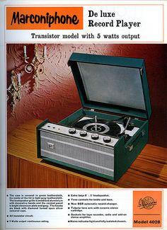 klappersacks: marconiphone model 4028 by Dr R Charles on Flickr.