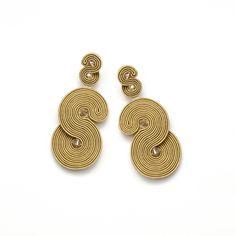 Statement dangle earrings gold large stud earrings statement