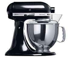 KitchenAid Artisan 5KSM150 Onyx Black 220 volt (WILL NOT WORK IN THE USA) ** Check this useful article by going to the link at the image. #HouseholdMixers