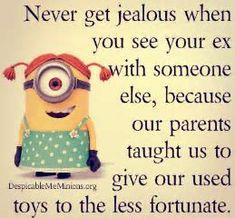 15 Minion Joke of the Day - Insane Memes & Insane humor - NovoStirf Funny Minion Pictures, Funny Minion Memes, Minions Quotes, Funny Relatable Memes, Funny Texts, Funny Jokes, Funniest Memes, Minions Images, Minion Humor