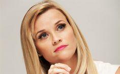 Herunterladen hintergrundbild reese witherspoon, portrait, schöne frau, us-amerikanische schauspielerin