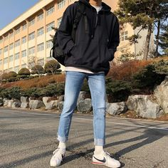 mens fashion old Korean Outfits, Retro Outfits, Grunge Outfits, Stylish Mens Outfits, Casual Outfits, Fashion Outfits, Cool Outfits, Fashion Fashion, Mode Man