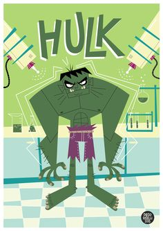 Hulk Vector on Behance