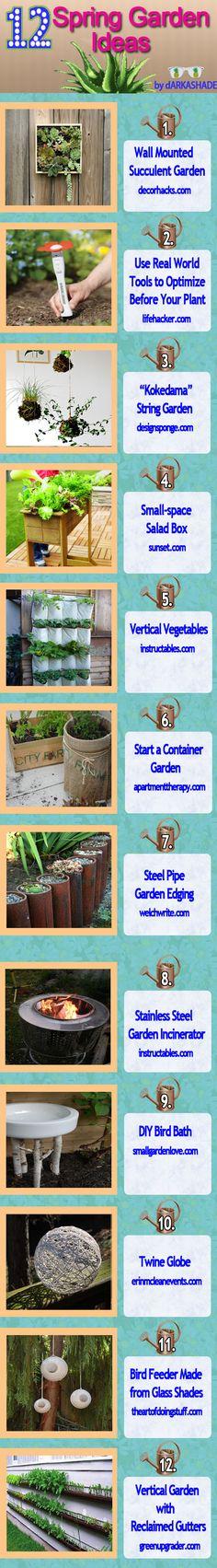 12 Spring Garden Ideas