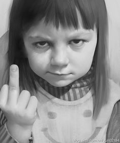 practice 018 by light gyzj Digital Art Masters Volume 4 Face Photography, Children Photography, Cute Baby Pictures, Baby Photos, Meme Faces, Funny Faces, Cute Baby Girl, Cute Babies, Middle Finger Picture