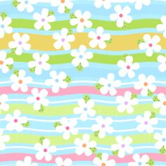 free white spring digital flower paper and links to clip art