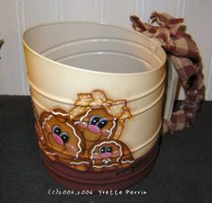 GINGERBREAD SIFTER EPATTERN by paintpuddlesdesigns on Etsy, $6.00