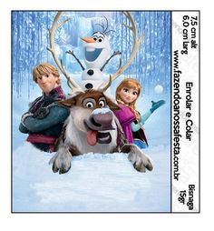 Lindo Kit com vários convites, rótulos e caixinhas para você baixar e fazer a sua festa com o Tema Frozen da Disney! Mais de 100 imagens! Totalmente Gratuito!
