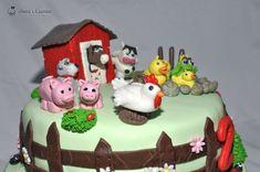 Ferma animalelor - tort cu mousse de visine Gingerbread, Good Food, Cake, Desserts, Tailgate Desserts, Deserts, Ginger Beard, Kuchen, Postres