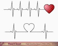 Afbeeldingsresultaat voor heartbeat tattoo