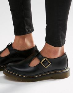 Dr Martens | Dr Martens Core Polley T-Bar Flat Shoes at ASOS