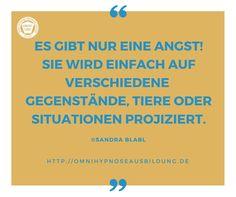 Warum es nur eine Angst gibt und warum Hypnose bei Ängsten und Phobien die beste Wahl ist, liest du hier: http://omnihypnoseausbildung.de/3-gruende-warum-hypnose-bei-aengsten-und-phobien-die-beste-wahl-ist/