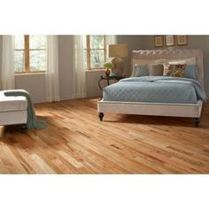 Blue Ridge Red Oak Natural 3/4 in. Thick x 3 in. Wide x Random Length Solid Hardwood Flooring (18 sq. ft. / case)-20474 - The Home Depot
