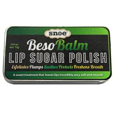 BESOBALM LIP SUGAR POLISH. 299 php Lip Balm, Lips, Polish, Sugar, Makeup, Kisses, Make Up, Vitreous Enamel, Beauty Makeup
